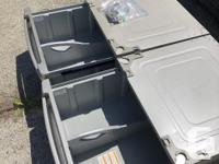 Pair of LG Washer and Dryer Pedestals. Graphite Steel.
