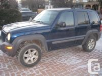Make. Jeep. Design. Liberty. Year. 2003. Colour. BLUE.