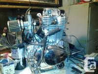 Type: 1-cylinder, 4-stroke, Over Head Cam air-cooled by