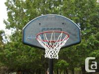 Lifetime Quickcourt Portable Baskettball Stand, About