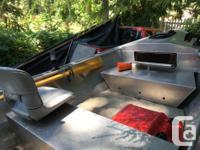 Lifetimer Aluminum 1400 Skiff $7,800 Upright level