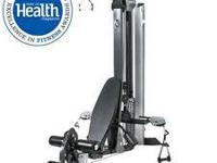 An excellent home fitness center for a general