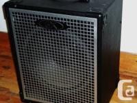 I'm offering a gallien-krueger mb115. This is a very