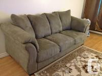 Light Green Couch like brand new. We used it for 12