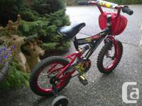 This is a really cool bike for a little boy, it even
