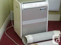 Portable 7000btu air conditioner, 72-pint ability each
