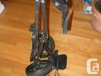 Tour Select 2-wheel golf caddie cart Great condition 9