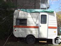 13 FOOT BONAIR TRAVEL TRAILER , EXTREMELY CLEAN AND