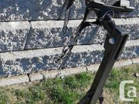THIS IS A NEAR BRAND NEW /HEAVY DUTY 4 BIKE HOLDER/HAS