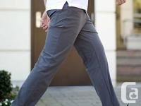 Offering a pair of LIKE NEW Lululemon Goal Trousers