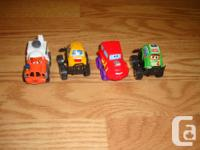 I have a Like New 10 Piece Toy McQueen Cars Set for