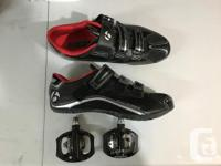 For sale used 6 times, Bontrager Solstice shoes size US