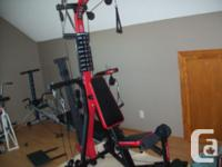 Like new Bowflex $800 Life Gear total trainer/ rowing