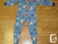 I have a Like New Circo Size 4-5 Infant Fleece Sleeper
