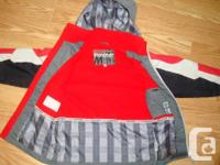 I have a Like New Coat Grey Red Size 7 Monster for