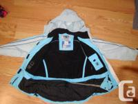 I have a Like New Coat Light Blue Athletic Works Size