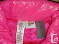I have a Like New Coat Pink Hannah Montanna Youth Size