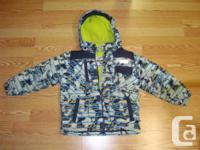 I have a Like New Coat Winter Osh Kosh Yellow Blue