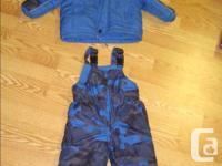 I have a Like New Coat Winter Snowpants Osh Kosh Blue