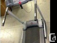 Like New FitnessClub Electric Foldable Treadmill MI 155