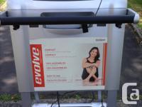 Like new, awesome fold away treadmill. Folds up