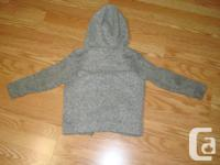 I have a Like New Grey Fleece Coat Size 5 Toddler for
