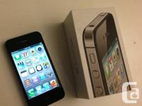 I'm selling a LIKE NEW iPhone 4S 16G   LOCKED TO TELUS/