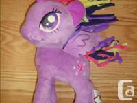 I have a Like New Large My Little Pony Twilight Sparkle