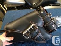 Like new LaRosa designs left side leather solo bag
