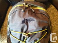 This MEC backpack is like new... Used as a hydration
