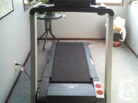 This treadmill is in great condition. It was bought in