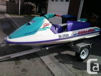 Excellent condition and very well kept Sea Doo GTS.
