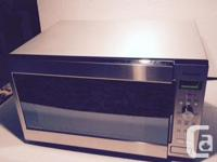Immaculate, like new, Panasonic Stainless Steel 1200W