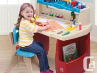 I have a Like New Step 2 Deluxe Art Master Desk with