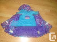 I have a Like New Winter Coat XMTN Purple Size 5 for