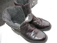 Like ** new** WINTER warm insulated leather boots size