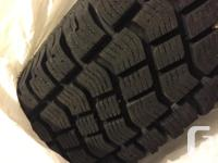 Great Winter Tires (M+S) with snow tire symbol for