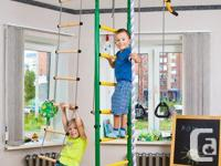 Indoor playground equipment for kids! Sport activities