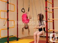 Indoor playground equipment for kids! Sport activities