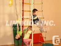 Interior play area equipment for youngsters! Sporting