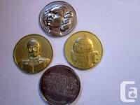 Star Wars 6 Coin Set Limited Edition Only released in