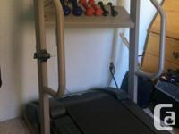 Weslo 445I Treadmill. Bought 1/2 price: paid $796.00.