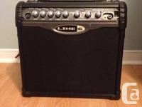 I'm selling my Line 6, 15 watt amp.  The amp maybe