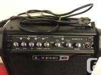 This amp is in amazing condition and has only been used