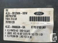 Liner Pick up Box 2008 Ford F150 6.5 ft box As New.