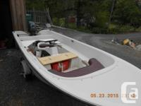 14' centre consul open run-about, with 35 HP longshaft