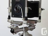 Linhof Kardan 4x5 Large Format Camera w/ Scneider Optik