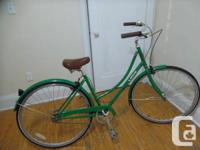 Stylish green Linus bike for sale for $300.00. Original