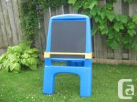 The Little Tikes # 4418 Super Easel is flexible &
