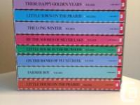 Laura Ingalls Wilder, 9 Book (paperback) collection